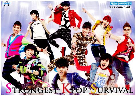 [تقرير] الدراما الموسيقية Strongest Kpop Survival